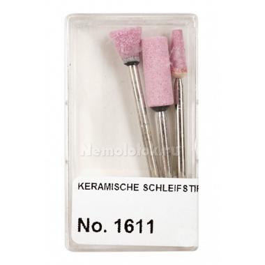 Насадки керамические шлифовальные в пластиковой коробке Pebaro (1611)