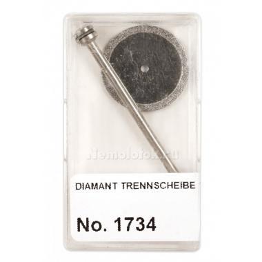 Алмазный отрезной диск в пластиковой коробке Pebaro (1734)