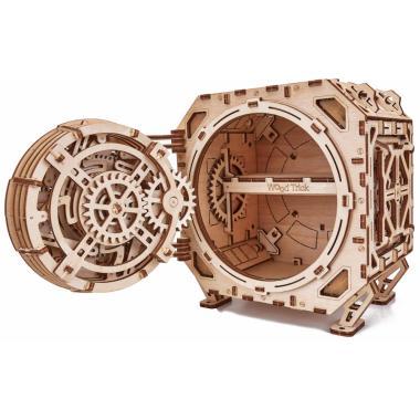 Механическая сборная модель Wood Trick Механический Сейф