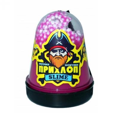 Слайм Прихлоп Флуоресцентный ЕЖЕВИКА с шариками