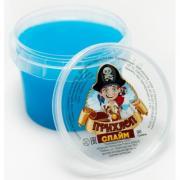 Слайм Прихлоп пират ГОЛУБОЙ, 90 гр