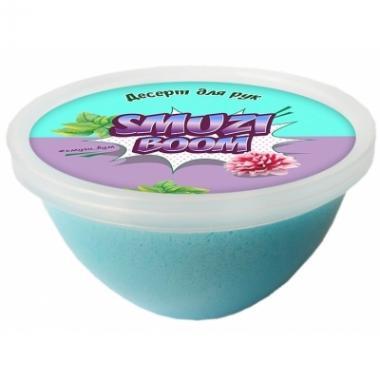 Слайм-десерт для рук Smuzi boom, 150 гр (голубой)