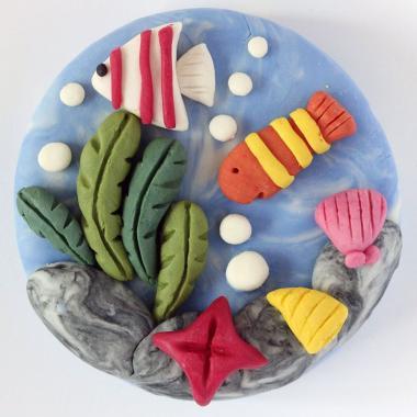 """Набор """"РЫБКИ"""" для лепки пластилинового мыла ART Soap"""