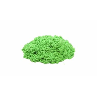Волшебный песок Зеленый 1 кг с формочкой