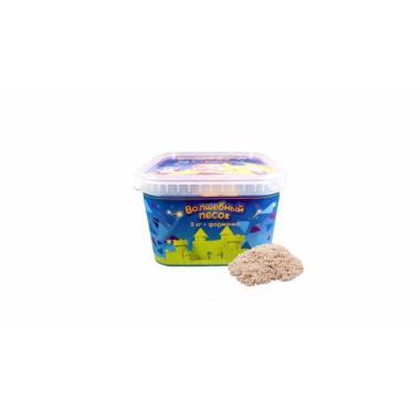 Волшебный песок Классический 3 кг с формочкой