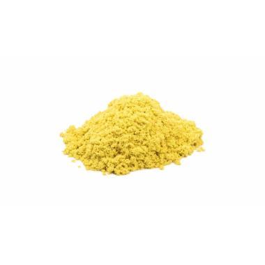 Волшебный песок Желтый 3 кг с формочкой