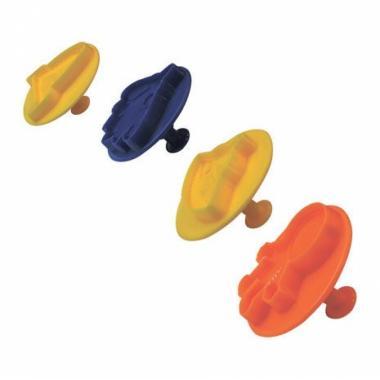 "Тянущийся пластилин (масса для лепки) ""Эластик ""Space"", ассорти, 360 гр (сквуши)"