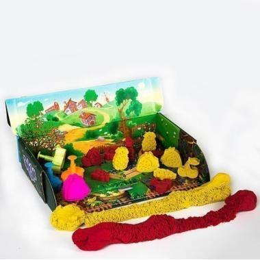 "Тянущийся пластилин (масса для лепки) ""Эластик ""Fruit"", ассорти, 360 гр. (сквуши)"