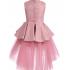 Нарядное платье для девочки IQ-FORM (малиновый), 3-8 лет