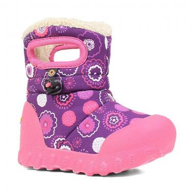 Зимние детские сапоги BOGS (пурпур)
