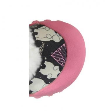 Зимние детские сапоги BOGS (серый/розовый)