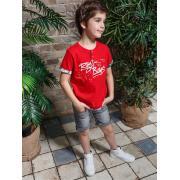 Футболка для мальчика JUNO (красный), 3-13 лет