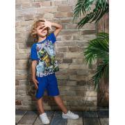 Футболка для мальчика JUNO (т.синий), 3-13 лет
