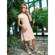 Платье для девочки JUNO (персиковый), 3-12 лет