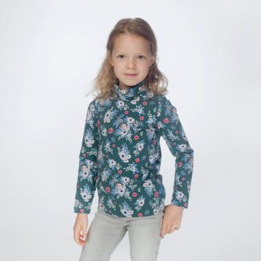 Водолазка для девочки KOGANKIDS (голубой), 1-12 лет