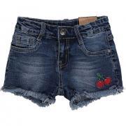 Шорты джинсовые для девочки Sweet Berry (синий), 3-8 лет