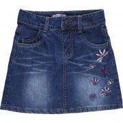 Юбка джинсовая для девочки Sweet Berry (синий), 3-8 лет