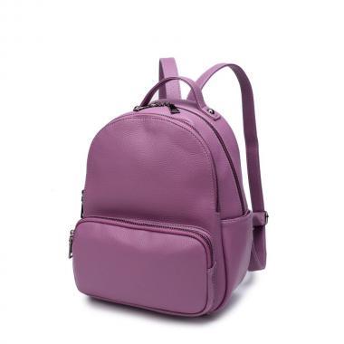 Женский рюкзак из экокожи Ors Oro (сиреневый)