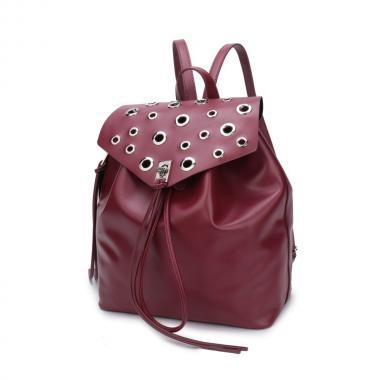 Женский рюкзак из экокожи Ors Oro (бордо)