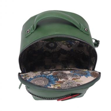 Женский рюкзак из экокожи Ors Oro (зеленый)