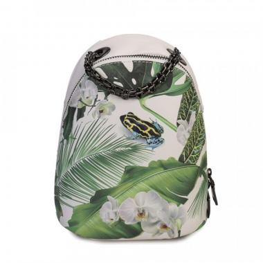 Женский рюкзак из экокожи Ors Oro (лягушка)