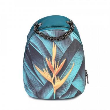 Женский рюкзак из экокожи Ors Oro (листья)
