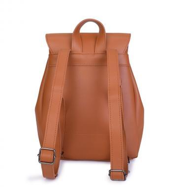 Женский рюкзак из экокожи Ors Oro (песочный)