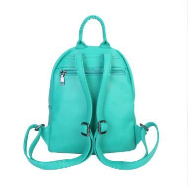 Женский рюкзак из экокожи Ors Oro (изумруд)