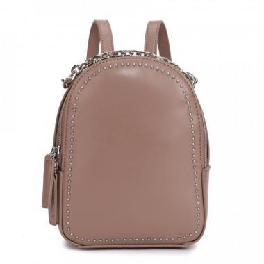 Женский рюкзак из экокожи Ors Oro (кофе с молоком)
