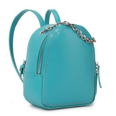 Женский рюкзак из экокожи Ors Oro (бирюза)