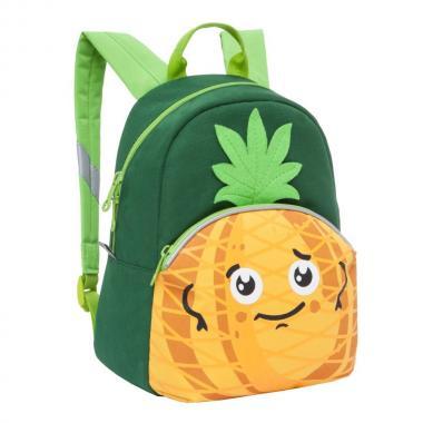 Детский рюкзак GRIZZLY — RK-999-1 (ананас)