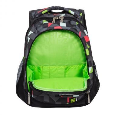 Молодежный рюкзак GRIZZLY  RU-925-2 (красные треугольники)
