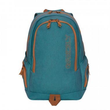 Мужской рюкзак GRIZZLY — RQ-901-1 (бирюза)