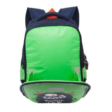 Рюкзак школьный GRIZZLY для мальчика (синий)