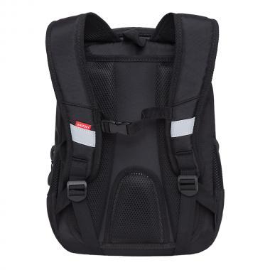 Рюкзак школьный GRIZZLY для мальчика (черный)