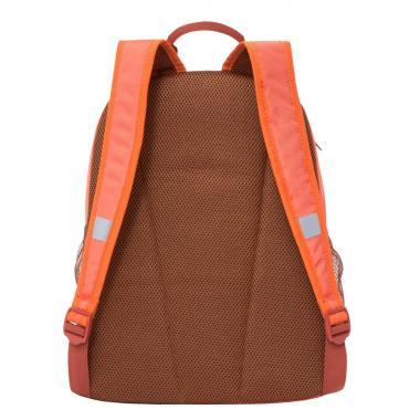 Школьный рюкзак для девочек GRIZZLY (коралл)