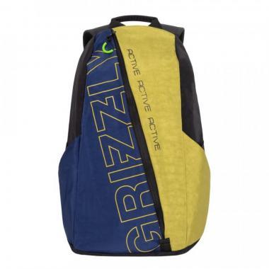 Спортивный рюкзак GRIZZLY — RQ-910-1 (черный/табачный)