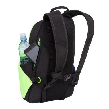 Спортивный рюкзак GRIZZLY — RQ-910-1 (черный/лимонный)
