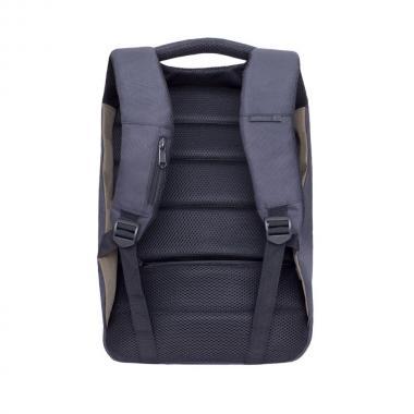 Мужской рюкзак GRIZZLY (черный - хаки)