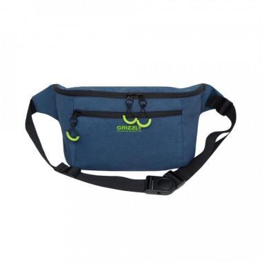 Поясная сумка GRIZZLY (синий)