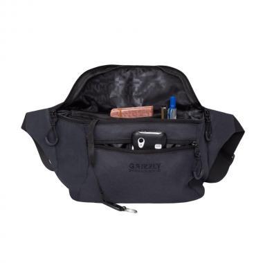 Поясная сумка GRIZZLY (черный)