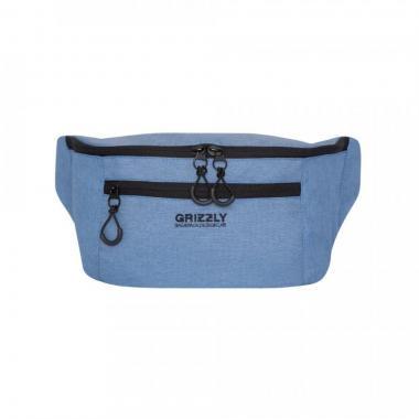 Поясная сумка GRIZZLY (джинсовый)