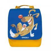 Детский рюкзак GRIZZLY (синий-желтый)