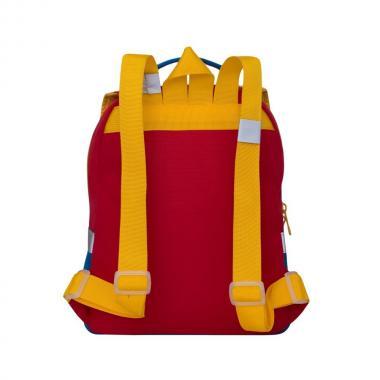 Детский рюкзак GRIZZLY (красный-синий)