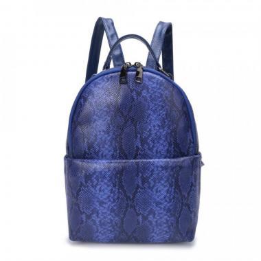 Женский рюкзак из экокожи Ors Oro (фиолетовый)