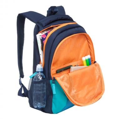 Женский рюкзак для спорта Grizzly (т.синий)