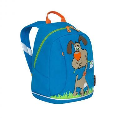 Детский рюкзак Grizzly (голубой)