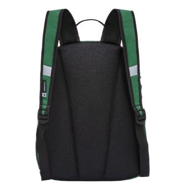 Школьный рюкзак для мальчика GRIZZLY (зеленый)