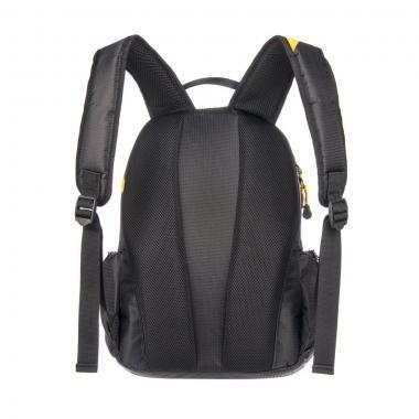Молодёжный рюкзак Grizzly (черный-желтый)