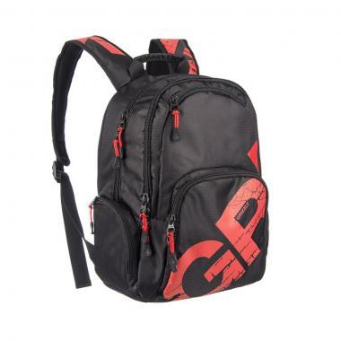 Молодёжный рюкзак Grizzly (черный-красный)